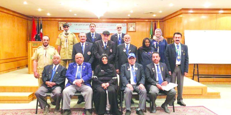 خلال اجتماعات تنظيمية رواد الكشافة بالكويت