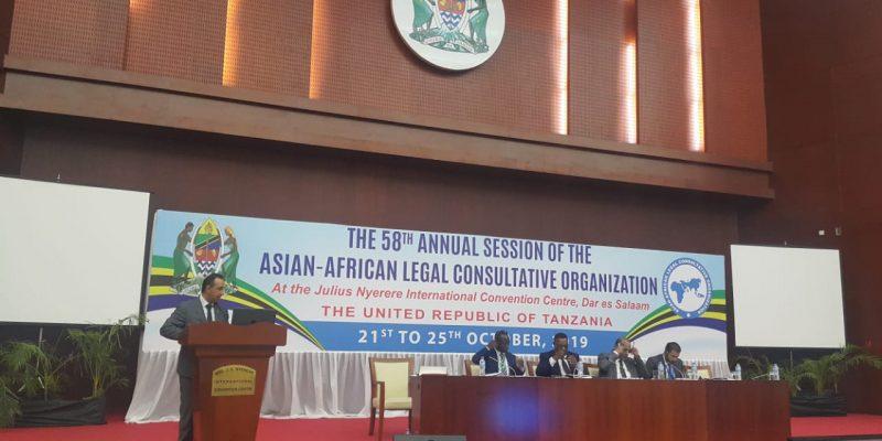 جريدة الرؤية العمانية - السعيدي يترأس وفد السلطنة في اجتماع المنظمة الاستشارية القانونية الآسيوية الأفريقية