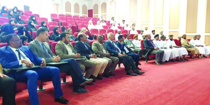 حلقة مشتركة بين جامعة ظفار والادعاء العام