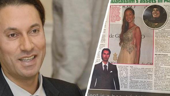 ابن المعتصم القذافي يظهر في مالطا.. وورثة بـ90 مليون يورو تحت المجهر