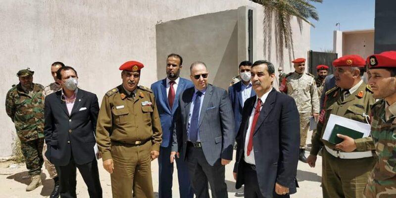 المدعي العام العسكري يتفقد السجون العسكرية في طرابلس